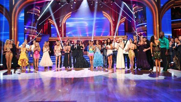 The cast appears in a still from the season premiere of Dancing With The Stars: All-Stars, which aired on September 24, 2012. - Provided courtesy of ABC / Adam Taylor