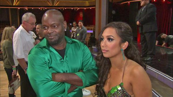 Emmitt Smith talks 'DWTS' first elimination