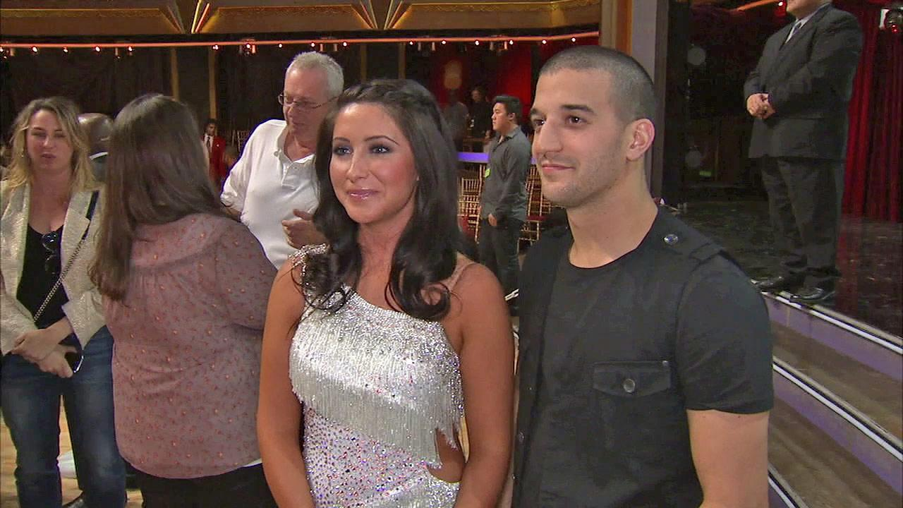 Bristol Palin and Mark Ballas talk to OTRC.com after the September 25, 2012 episode of Dancing With The Stars.