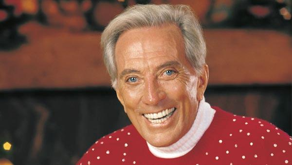 Andy Williams in an undated photo from his official website.