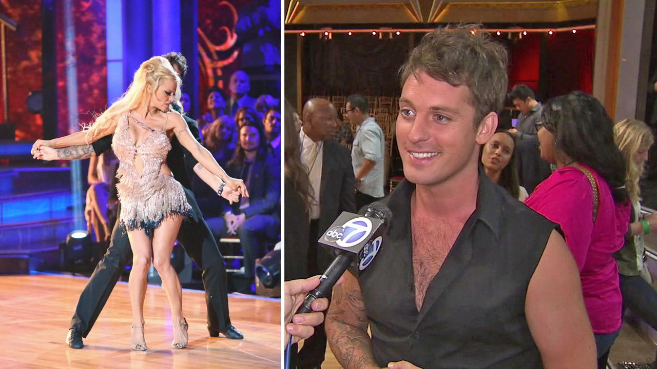 Tristan MacManus talks to OTRC.com after the September 25, 2012 episode of Dancing With The Stars.