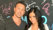 JWoww and Roger Mathews appear in a photo posted on her Twitter page on July 23, 2012. - Provided courtesy of twitter.com/JENNIWOWW/
