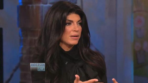 Teresa Giudice appears on Anderson Live on September 26, 2012. - Provided courtesy of AndersonCooper.com