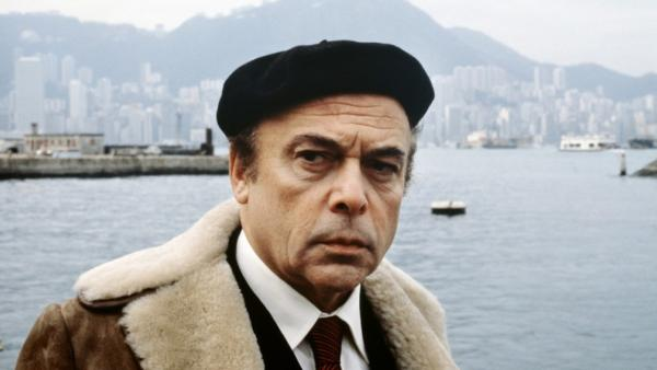 Herbert Lom appears in a still from the 1983 film, 'The Curse of the Pink Panther.'