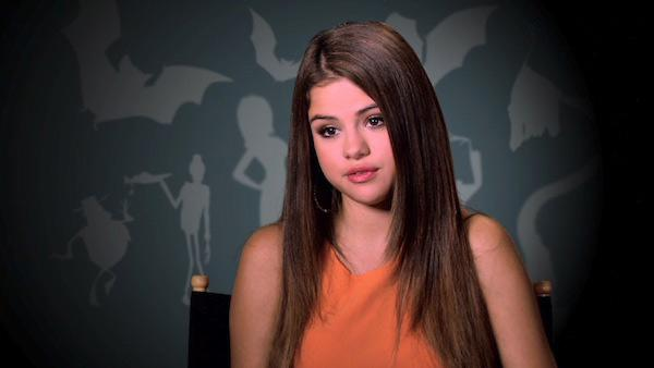 Selena Gomez appears in an interview to promote her upcoming film, Hotel Transylvania. - Provided courtesy of epk.com