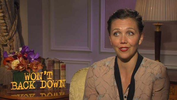 Maggie Gyllenhaal appears in an interview to promote her upcoming 2012 film, Wont Back Down. - Provided courtesy of epk.com