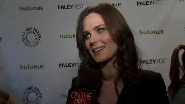 Emily Deschanel talks to OnTheRedCarpet.com at PaleyFest 2012 about the new season of his hit show 'Bones' on March 8, 2012.