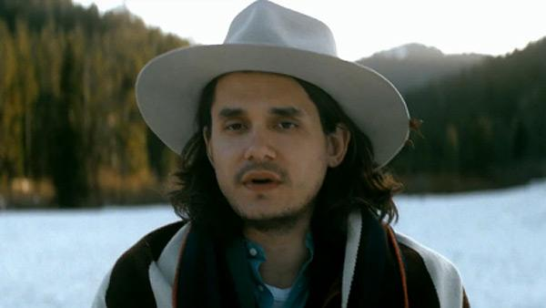 John Mayer appears in a scene from his 2012 music video 'Shadow Days.'