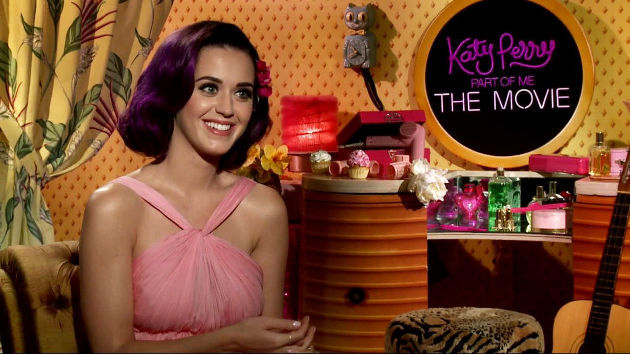 Katy Perry appears in a junket interview on June 21, 2012 talking to OnTheRedCarpet.com about religion, family and her fans. <span class=meta>(OTRC)</span>