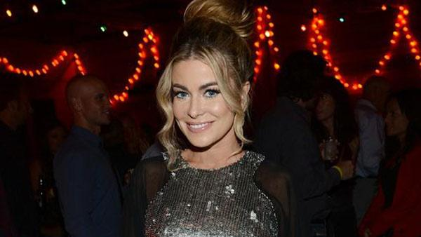 Carmen Electra is pictured at Pink Taco in L.A. on Sept. 29, 2012 to celebrate the CW show 90210s 100th episode, ahead of the season 5 premiere. - Provided courtesy of Michael Buckner / WireImage