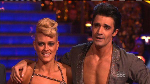 Gilles Marini and Peta Murgatroyd appear in a still from 'Dancing With The Star