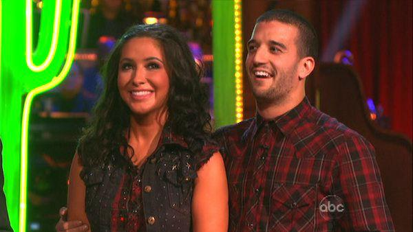 Bristol Palin and Mark Ballas appear in a still from 'Dancing With The Stars: All-Stars' on October 1, 2012.