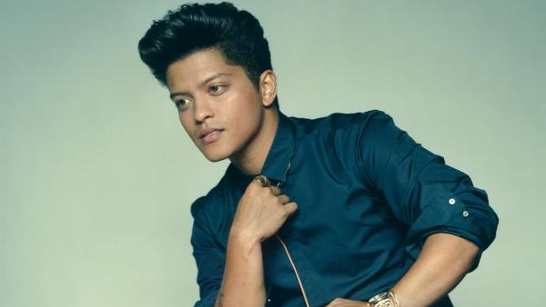 Bruno Mars appears in a photo posted on his Facebook page on January 25, 2012. - Provided courtesy of Andreas Laszlo Konrath