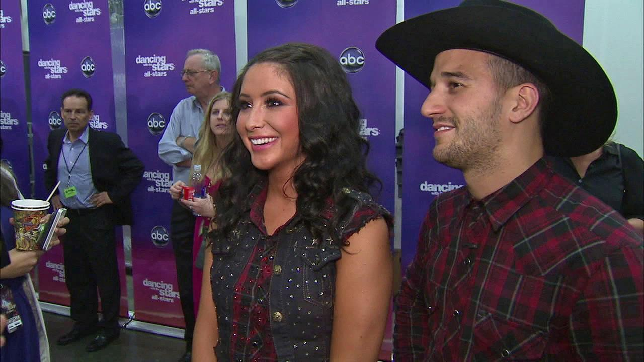 Bristol Palin and Mark Ballas talk to OTRC.com after the October 1, 2012 episode of Dancing With The Stars.