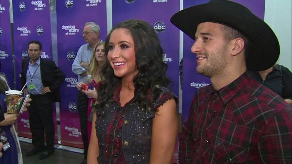 Bristol Palin and Mark Ballas talk to OTRC.com after the October 1, 2012 episode of Dancing With The Stars. - Provided courtesy of OTRC