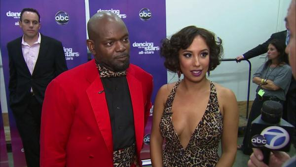 Emmitt Smith, Cheryl Burke talk 'DWTS' week 2