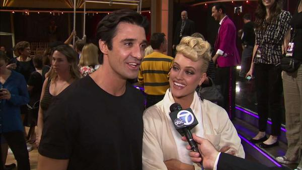 Gilles Marini and Peta Murgatroyd talk to OTRC.com after the Oct. 2, 2012 episode of 'Dancing With The Stars.'