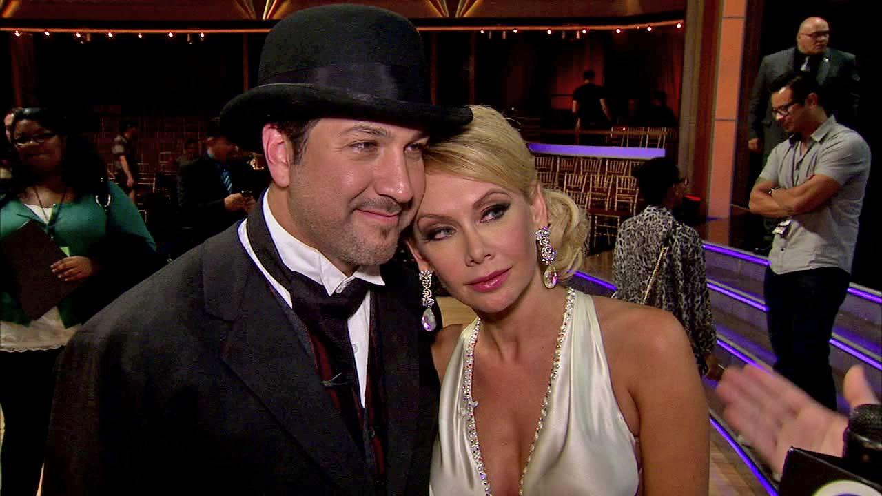 Joey Fatone and Kym Johnson talk to OTRC.com after the Oct. 2, 2012 episode of Dancing With The Stars.