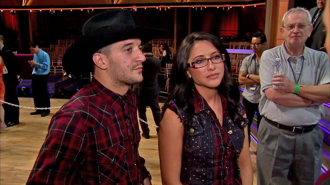 Bristol Palin and Mark Ballastalk to OTRC.com after the Oct. 2, 2012 episode of Dancing With The Stars.