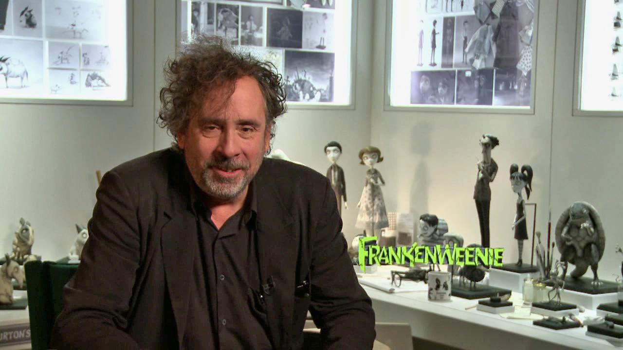 Tim Burton talks Frankenweenie on September 25, 2012.