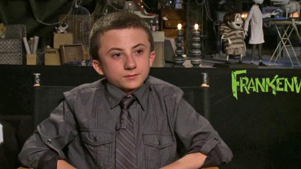 Atticus Shaffer and Charlie Tahan talk 'Frankenweenie'