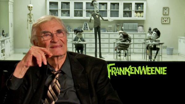 Martin Landau talks Frankenweenie on September 25, 2012.