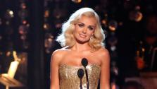 Katherine Jenkins, who competed on the show last season and finished in second place, returned to the ballroom as a musical guest, performed on Dancing With The Stars: The Results Show on Tuesday, Oct. 2, 2012. - Provided courtesy of ABC / Adam Taylor