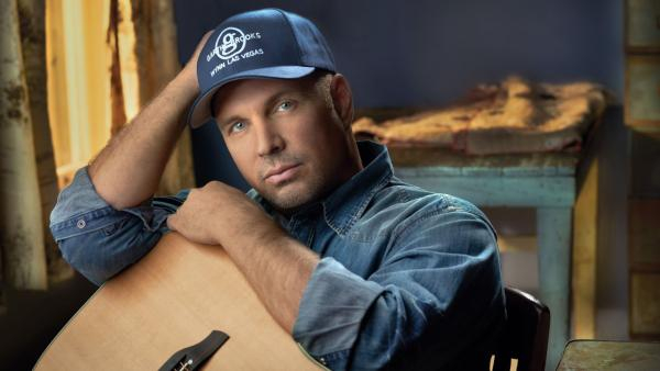 Garth Brooks appears in a publicity photo submitted by Wynn Las Vegas in October 2012. - Provided courtesy of Mark Tucker / Wynn Las Vegas