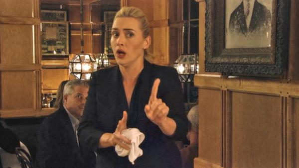 Kate Winslet appears in a still from the 2013 film, Movie 43. - Provided courtesy of Relativity Media