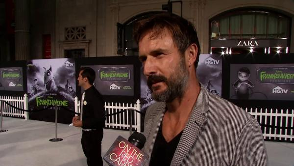 David Arquette talks admiring Tim Burton