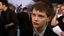 Charlie Tahan talks Frankenweenie at the premiere on September 24, 2012. - Provided courtesy of none / OTRC