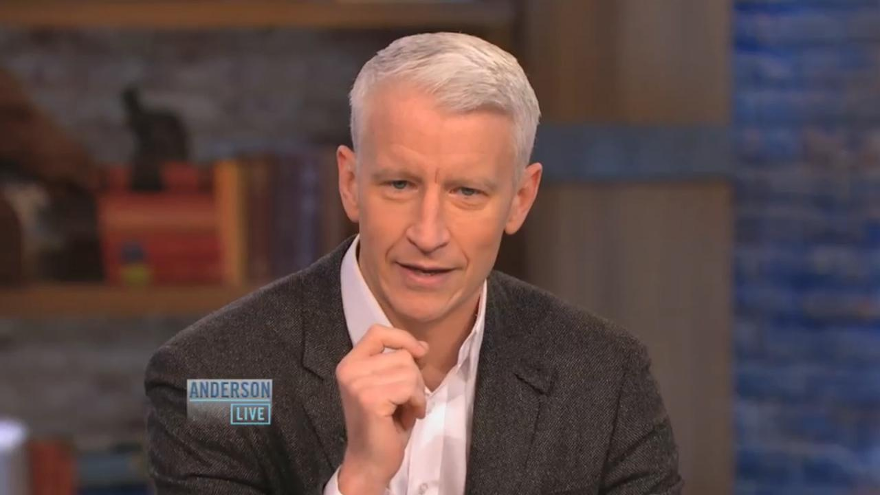 Anderson Cooper appears in an October 4 episode of Anderson Live.