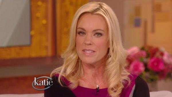 Kate Gosselin appears in a still from Katie Courics talk show, Katie. - Provided courtesy of ABC