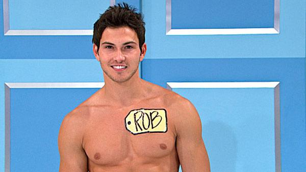 Male model Rob Wilson appears in a still from The Price Is Right. - Provided courtesy of CBS / Fremantle Media