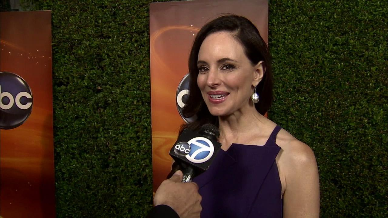 Madeleine Stowe talks to OTRC.com about season 2 of Revenge at a cocktail mixer at the Lexington Social House in Los Angeles, California to celebrate ABCs fall 2012 season on September 30.