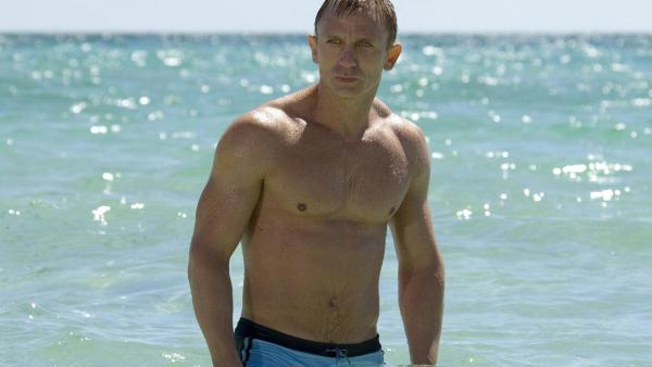 Daniel Craig appears on in a still from the 2006 film, Casino Royale. - Provided courtesy of Columbia Pictures