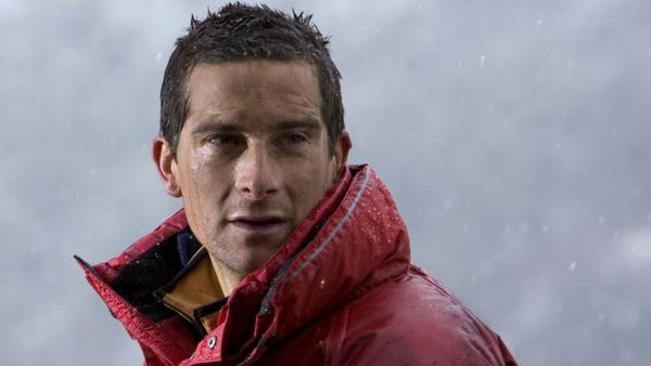 Bear Grylls appear in a still from the Discovery Channel series Man Vs. Wild. - Provided courtesy of Discovery Networks