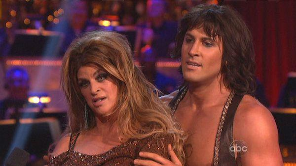 Actress Kirstie Alley and her partner Maksim Chmerkovskiy received 24 out of 30 points from the judges for their Cha Cha Cha on 'Dancing With The Stars: All-Stars,' which aired on October 8, 2012.