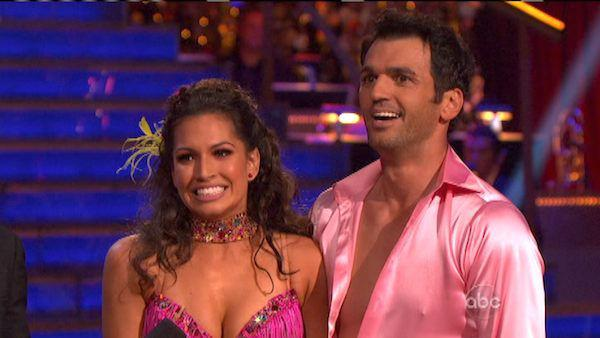 Reality star Melissa Rycroft and her partner Tony Dovolani received 27 out of 30 points from the judges for their Samba on 'Dancing With The Stars: All-Stars,' which aired on October 8, 2012.