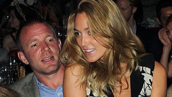 Guy Ritchie and Jacqui Ainsley appear in an undated photo from JacquiAinsley.com.