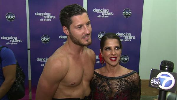 Kelly Monaco, Val Chmerkovskiy on their chemistry