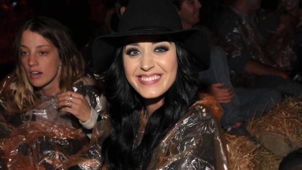 Katy Perry attends the 4th Annual Los Angeles Haunted Hayride VIP Premiere Night held at Griffith Park on Sunday, Oct. 7, 2012. - Provided courtesy of John Shearer/Invision for LAHH/AP Images