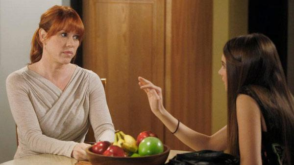Molly Ringwald appears in an scene from the ABC Family show The Secret Life of the American Teenager in 2012. - Provided courtesy of ABC Family
