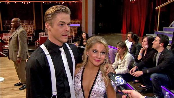 Shawn Johnson talks 'DWTS' double elimination