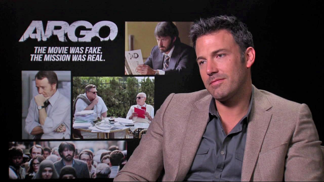 Ben Affleck talks to OTRC.com about his upcoming film, Argo, on October 8, 2012.
