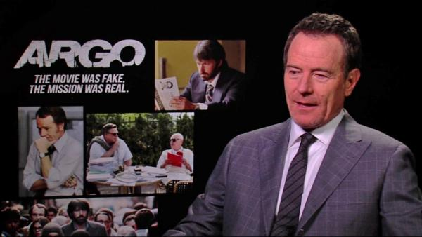 Bryan Cranston says 'Argo' is a remarkable true story
