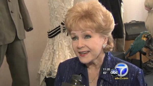 Debbie Reynolds talks to OTRC.coms parent company KABC Television in June 2012. - Provided courtesy of OTRC
