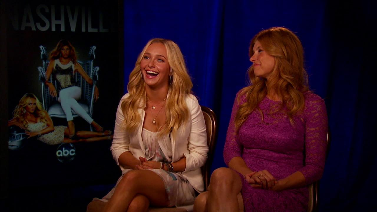 Hayden Panettiere and Connie Britton talk to OTRC.com about the ABC series Nashville. Its premiere date is Oct. 10, 2012.