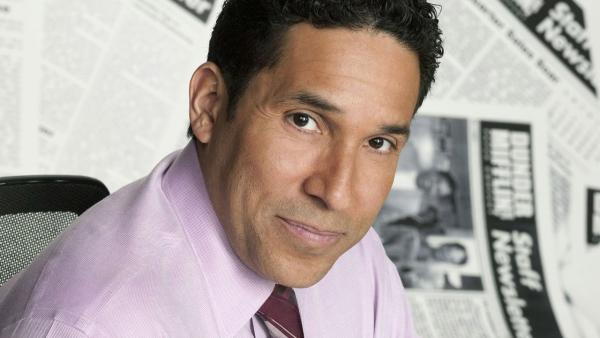 Oscar Nunez appears in a promotional photo for The Office. - Provided courtesy of NBC