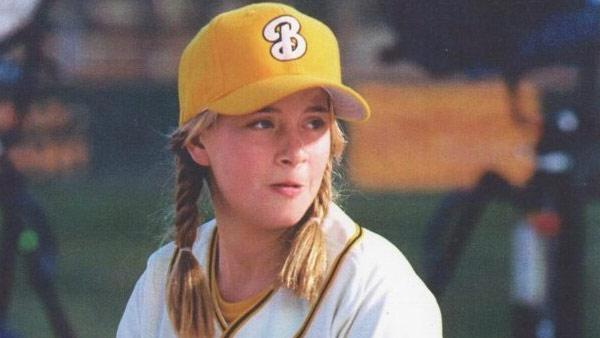 Sammi Kane Kraft appears in a still from the 2005 remake, 'Bad News Bears.'